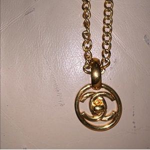 Chanel Pendant turnlock necklace from 1997 France